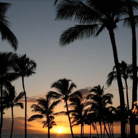 Lovely Maui Sunset